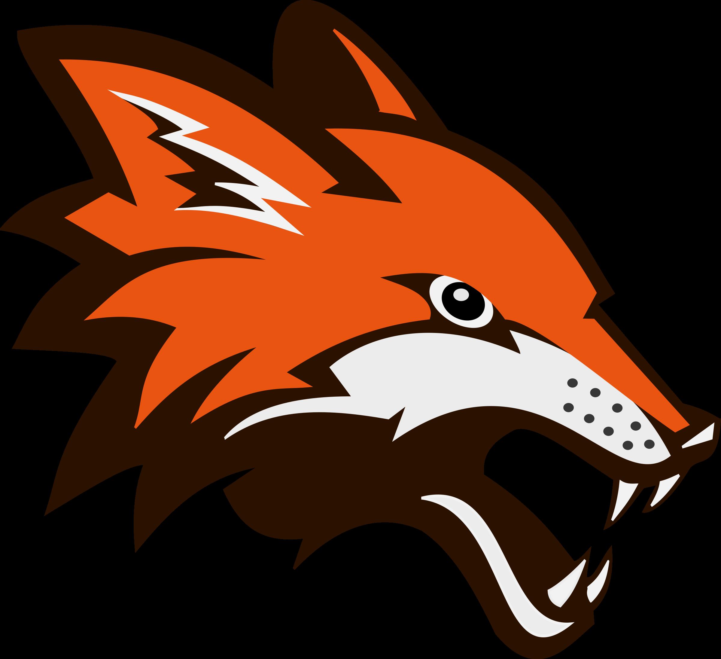 fighting head fox logo png #1653