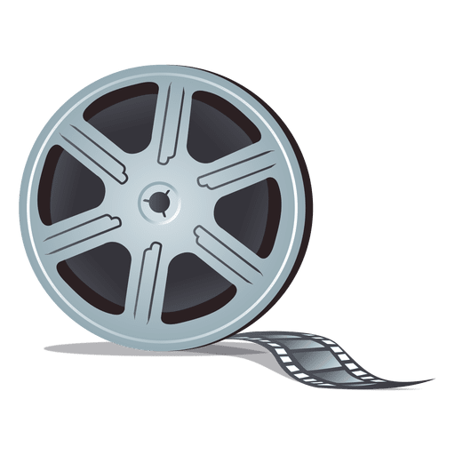 film reel transparent png svg vector #36134