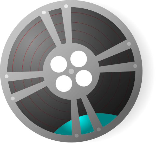 video film reel clip art clkerm vector clip art #36152