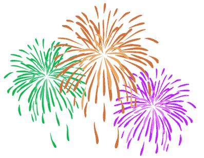Firework translucent. Fireworks png clipart background