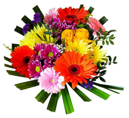 flower bouquet png transparent image #34087