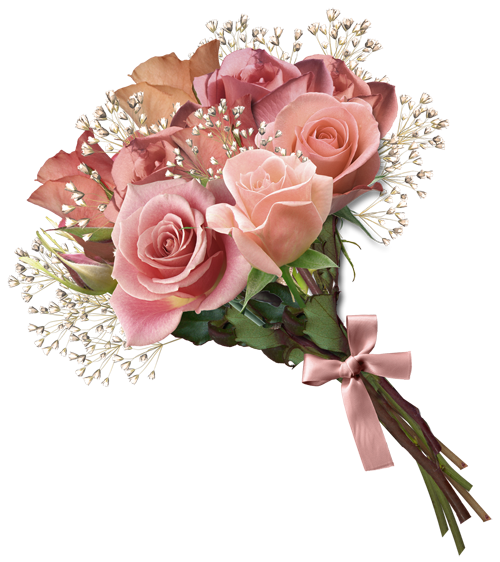 flower bouquet tubes fleur bouquets wedding pink rose bouquet #34081