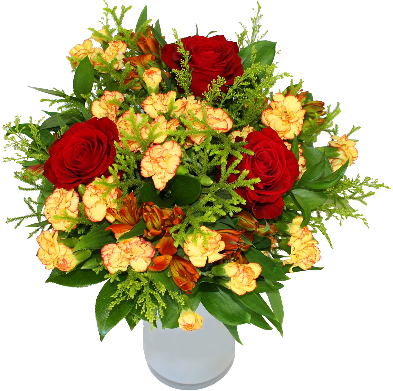 flower bouquet with vase flowers can flourish your relations #34077