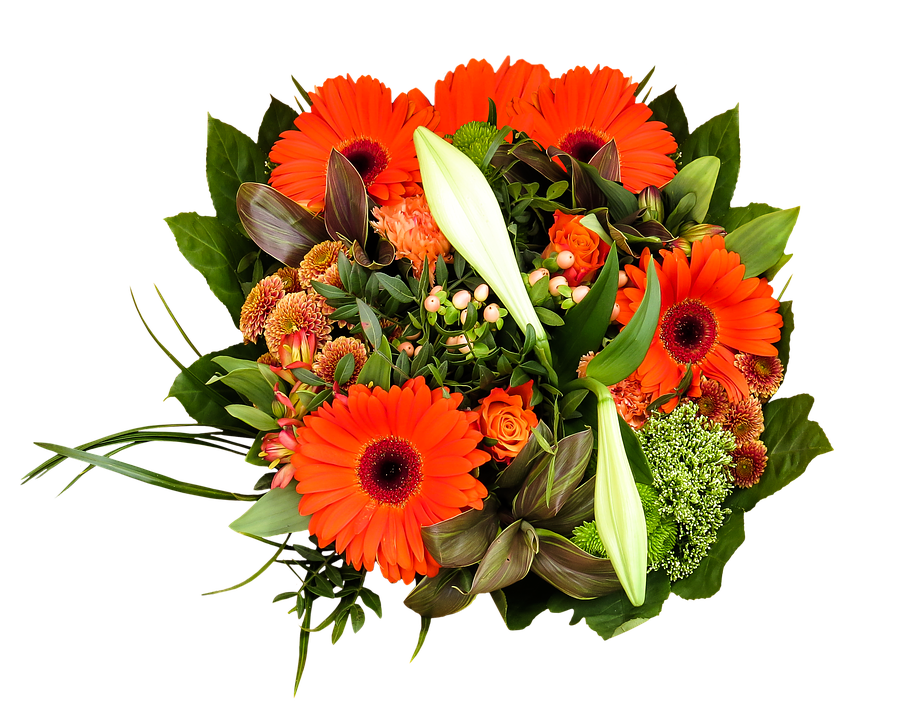 flower red bouquet photo birthday bouquet png image #34095