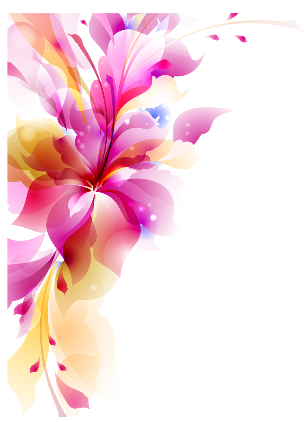 flowers vectors transparent #8189