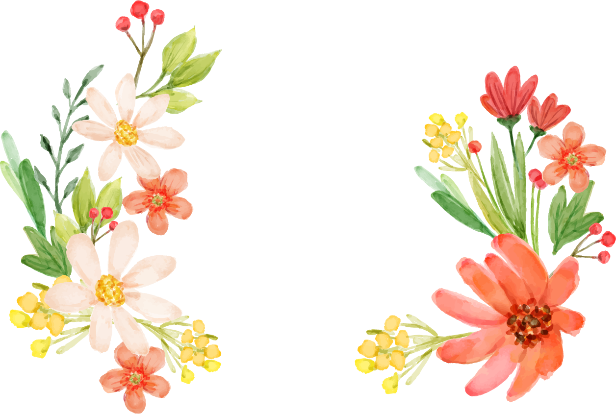 flowers vectors transparent images only #8172