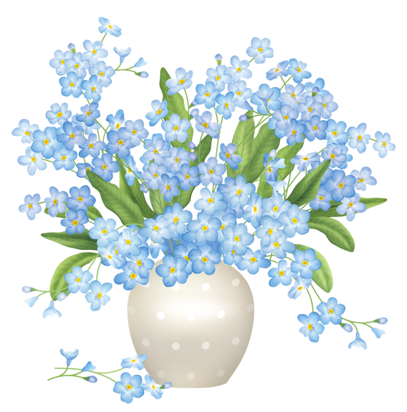 flower vase, blue flowers vase png clipart gallery yopriceville high quality images and transparent png #28651