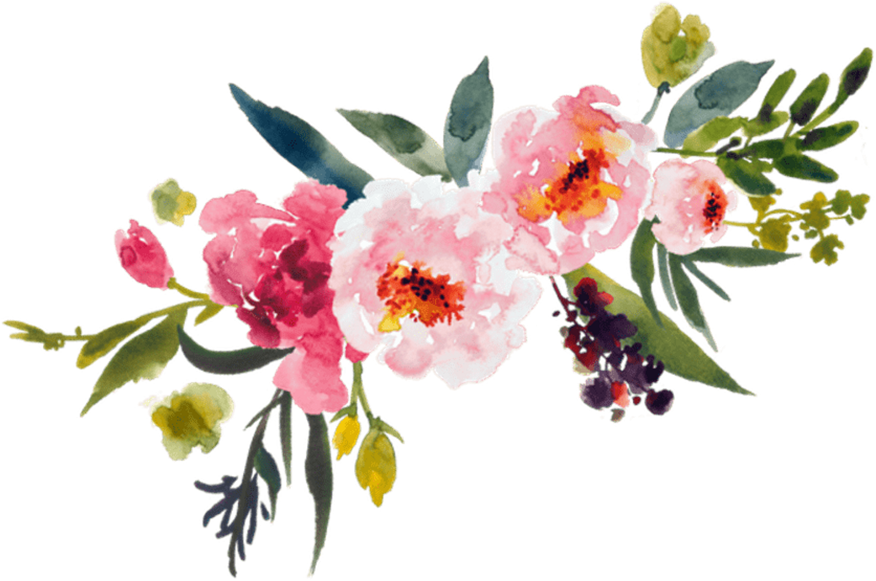 flower watercolor, painting flower bouquet clip art leaves transprent #31293