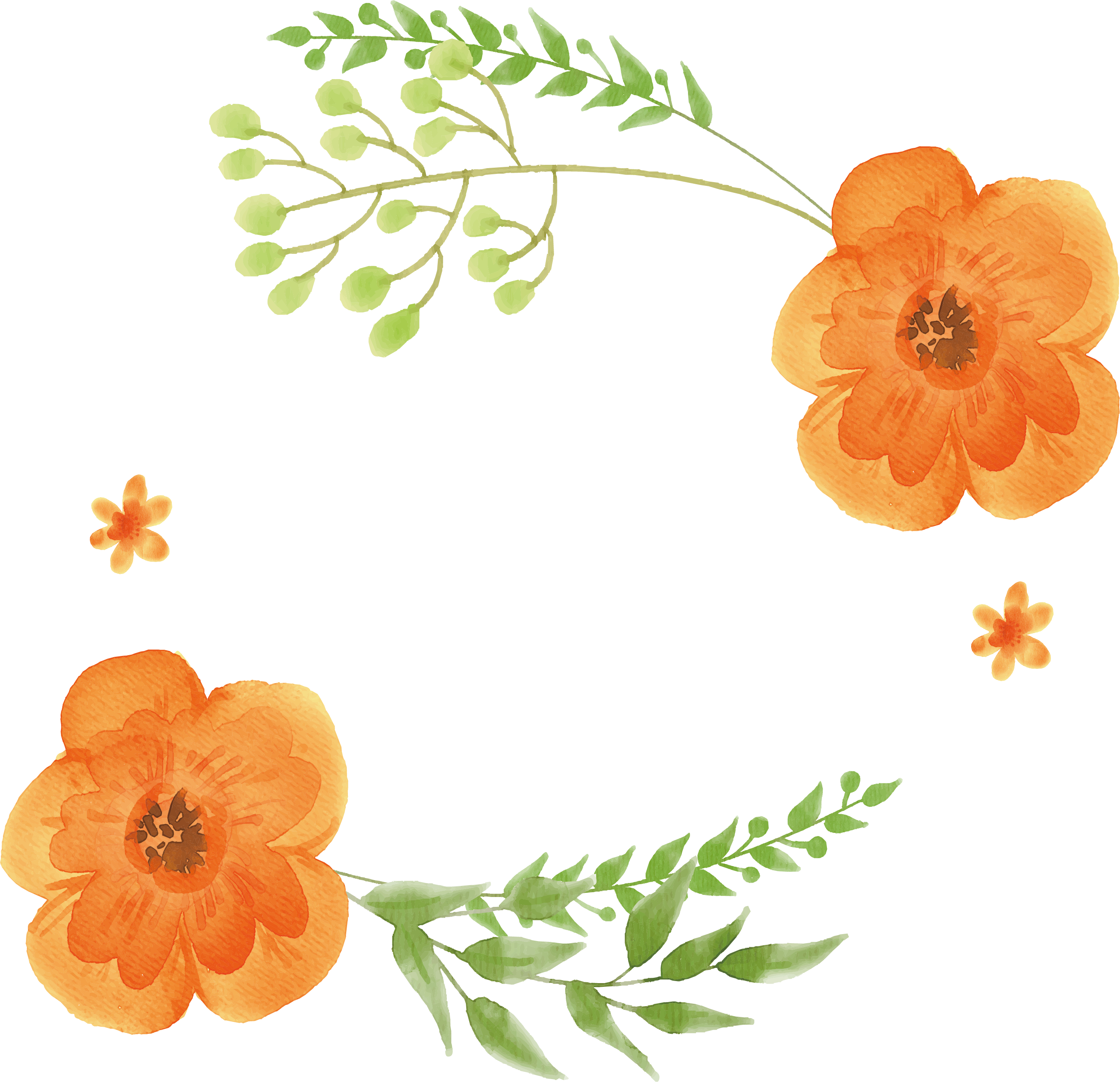 flower watercolor, water color flower clip use download png files #31278