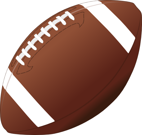 american football vector clipart #8874