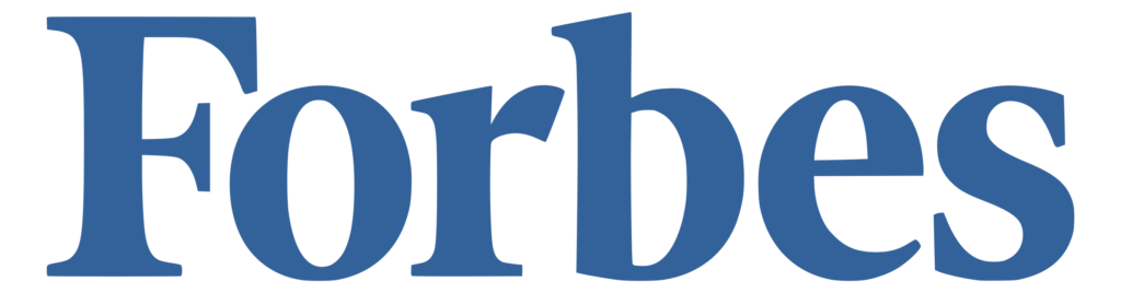 Forbes Magazine Logo Transparent Blue #40226