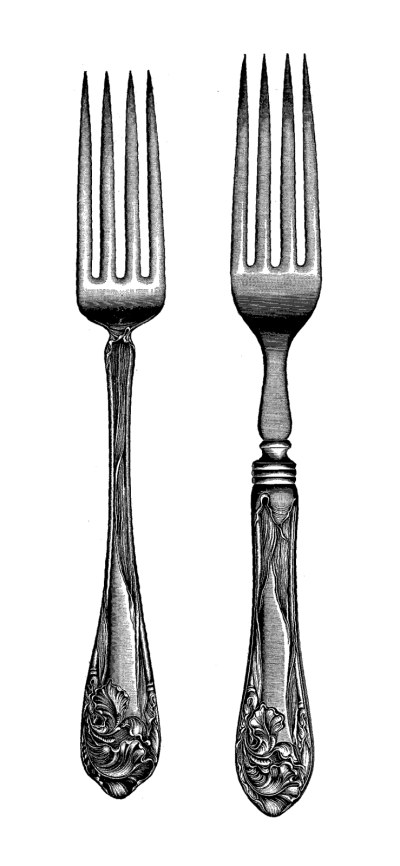 fork, download silverware png transparent image and clipart #24485