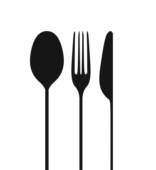 spoon fork knife image pixabay #24471