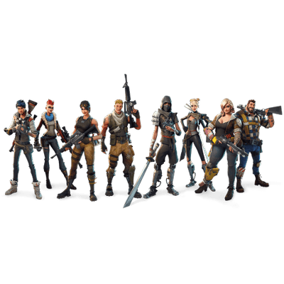 fortnite characters download clipart with transparent #27088