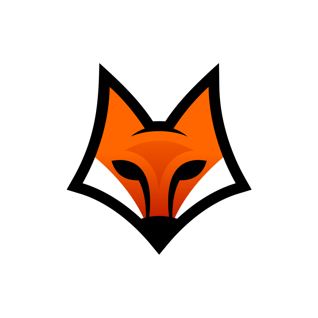 Fox Head Art Logo Png #1634