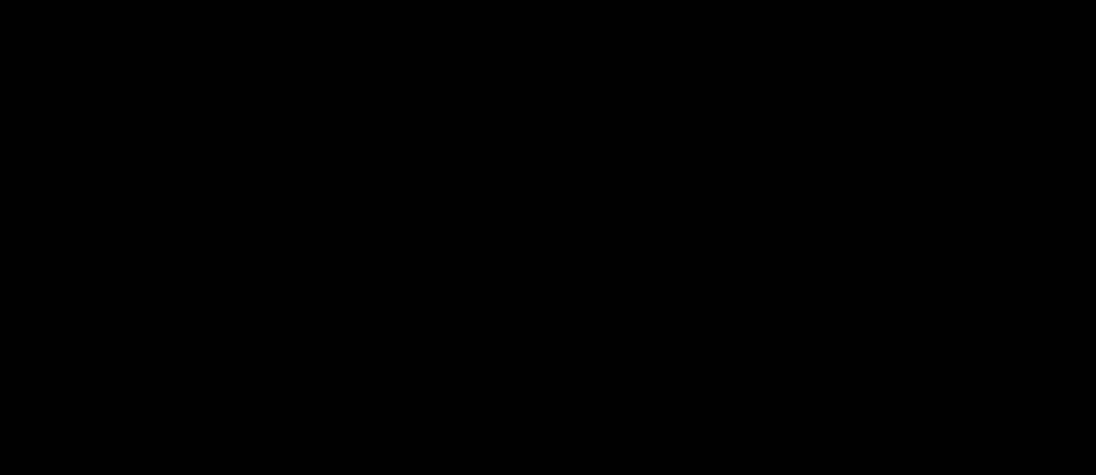 fox logotype (black) text png #1624