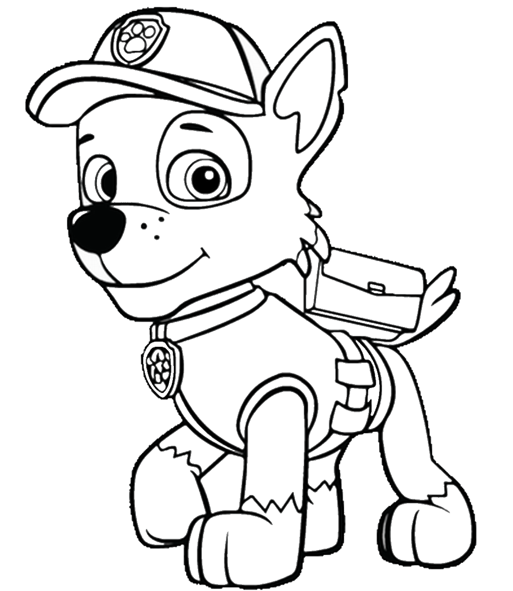 free paw patrouille coloring pages png #2617