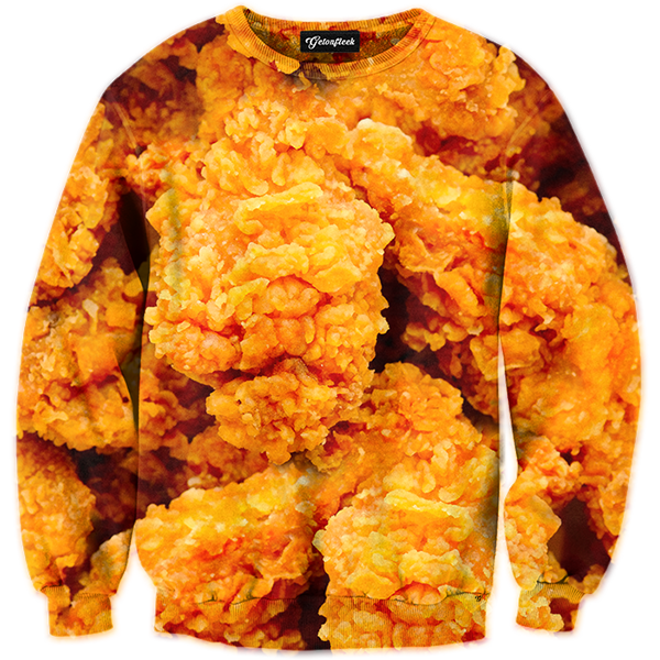 fried chicken tracksuit all over print apparel getonfleek #15497
