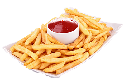 french fries and rava toast retailer happy burger chennai #20304