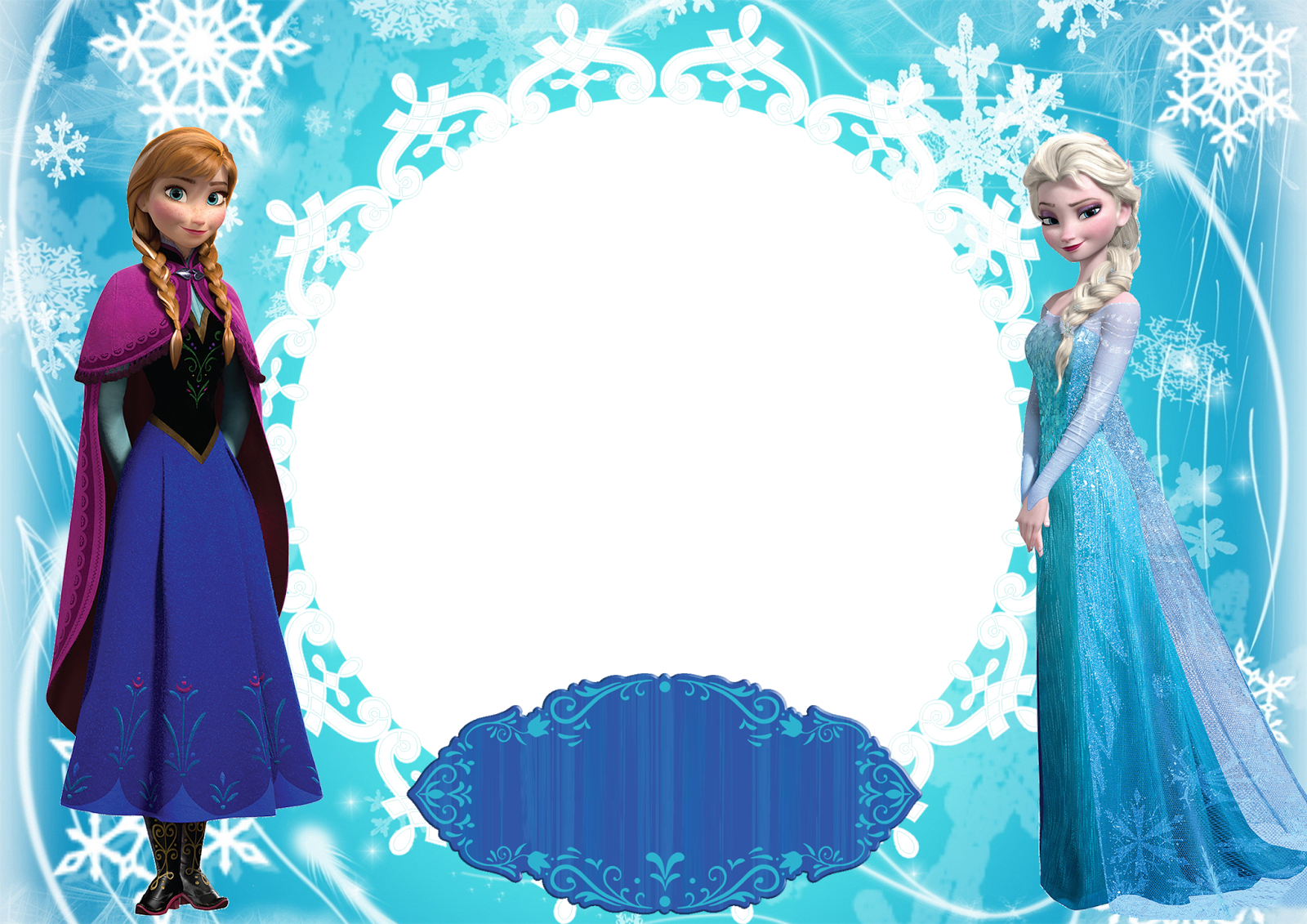frozen castle frame png icons and backgrounds #27787