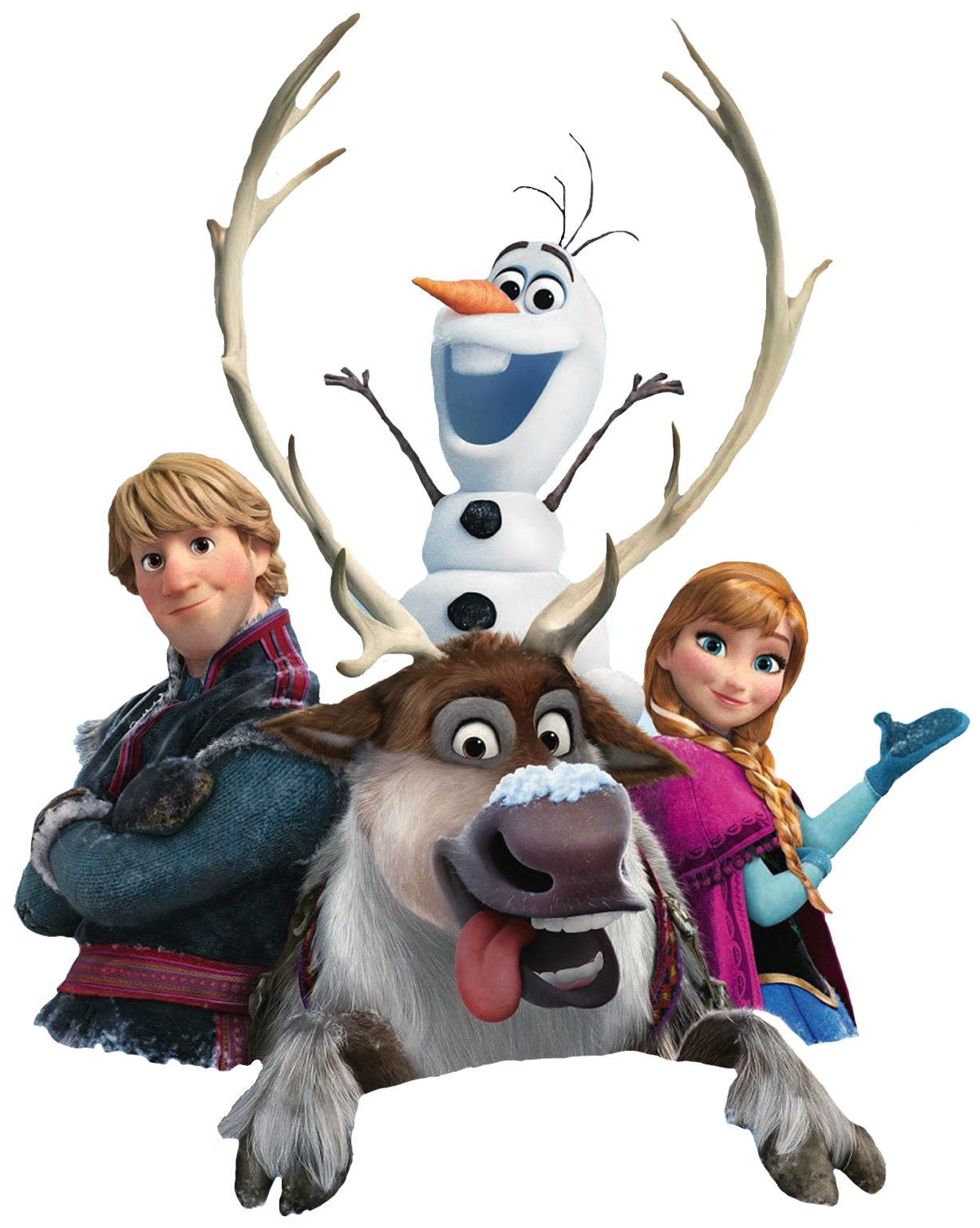 frozen characters clipart #27786