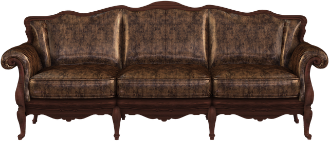 sofa furniture couch old png image #21956