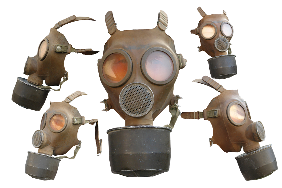gas mask collection png image #39186