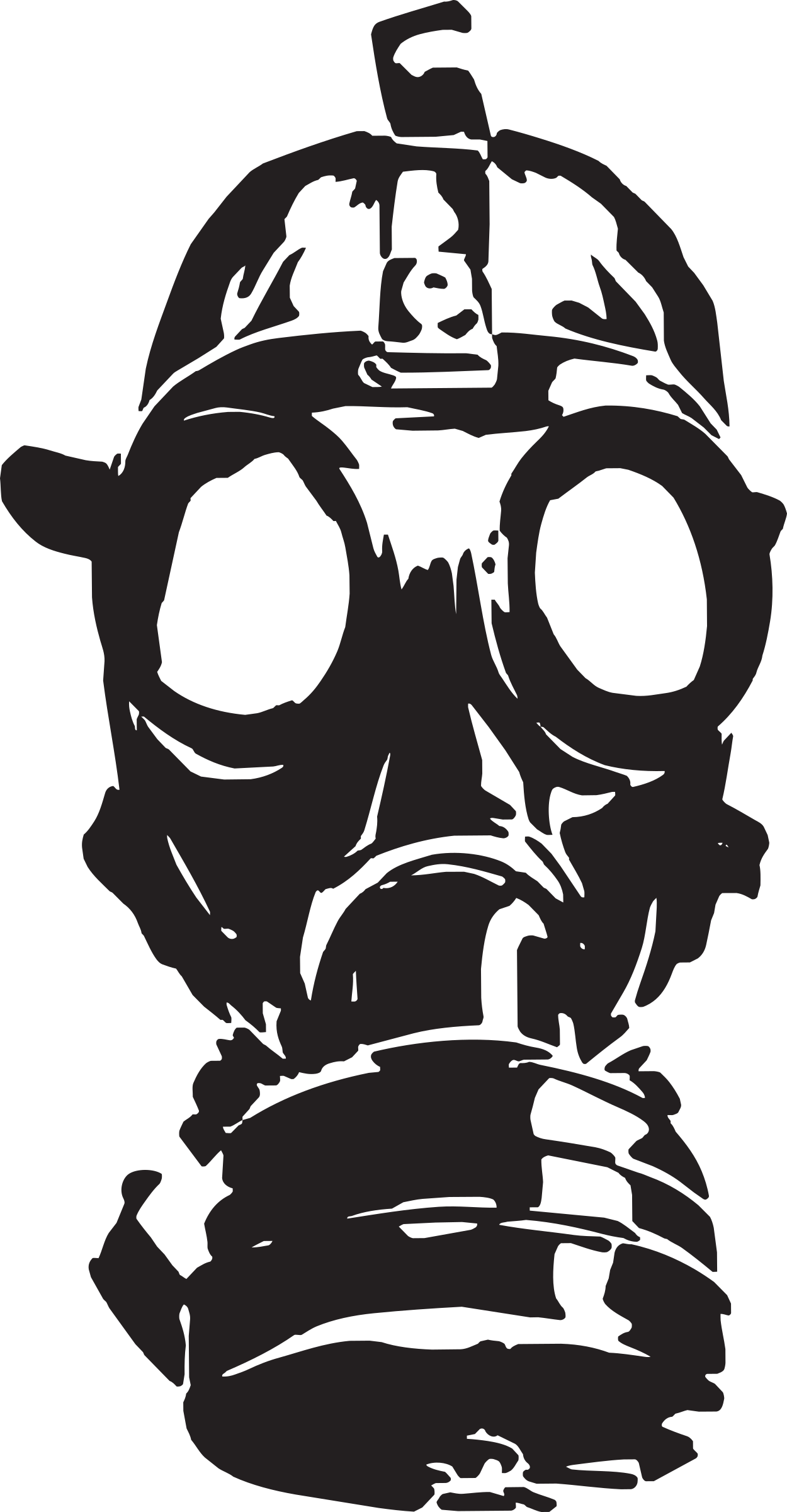 gas mask drawing poison clipart gas mask poison gas mask transparent #39176
