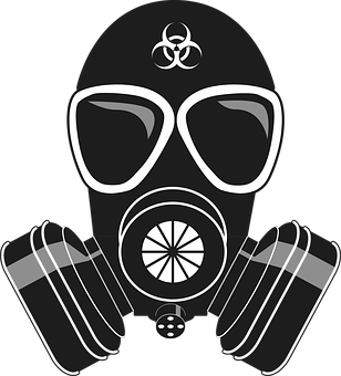 gas mask drawing virus vector graphics download images #39180