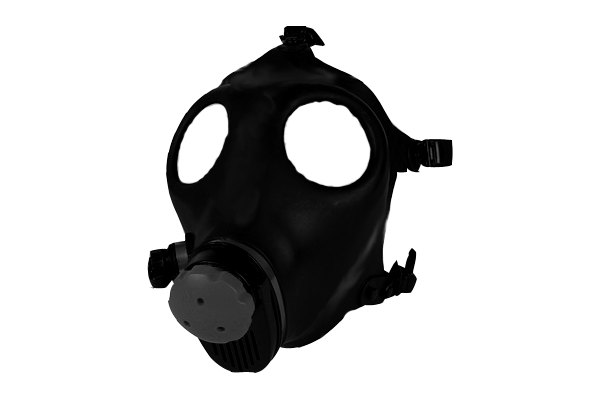 gas mask pic for template #39156