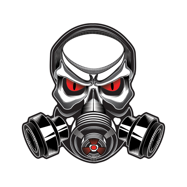 gas mask skull drawing download #39177