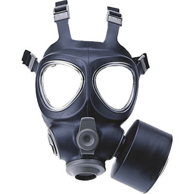 gas mask transparent #39146