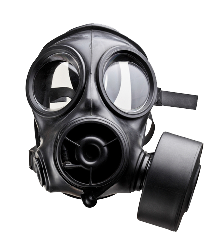 gas mask transparent image #39142