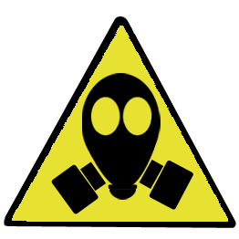 gas mask warning sign png #39187