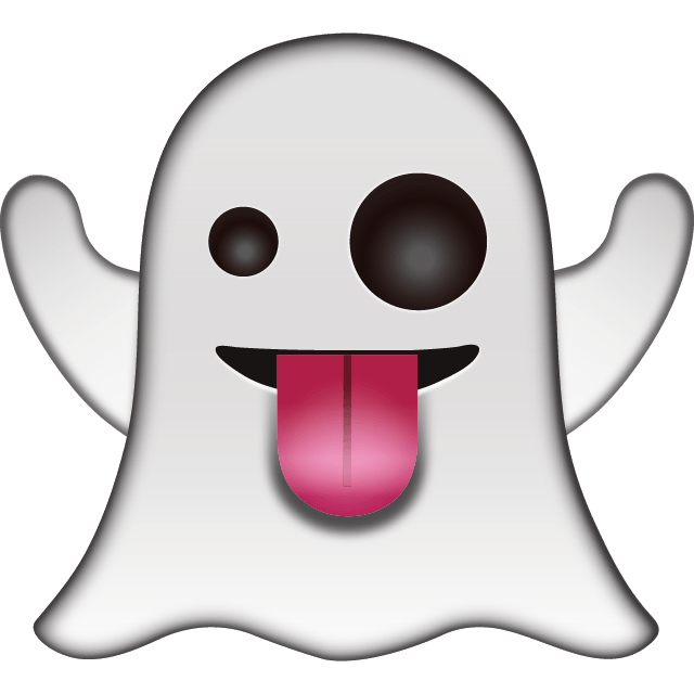 emoticon ghost transparent png stickpng #17954