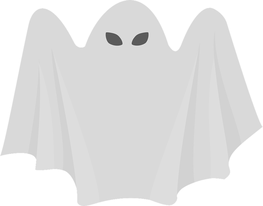 ghost halloween spooky vector graphic pixabay #17946