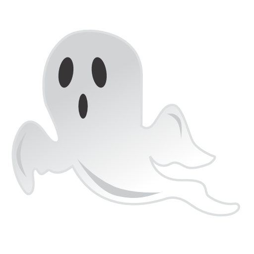 ghost icon halloween iconset css creme #17889