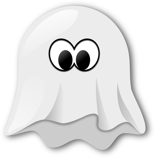 ghost spooky white vector graphic pixabay #17908
