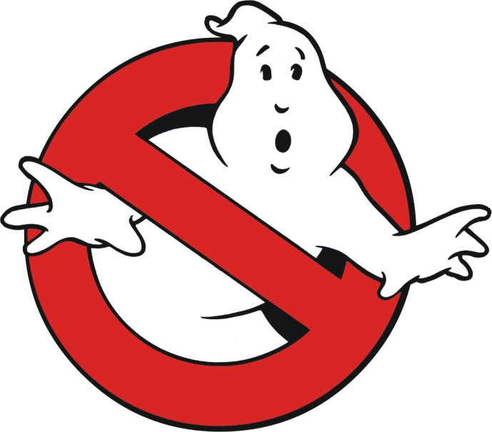 ghostbusters back on the big screen this october png logo 3645