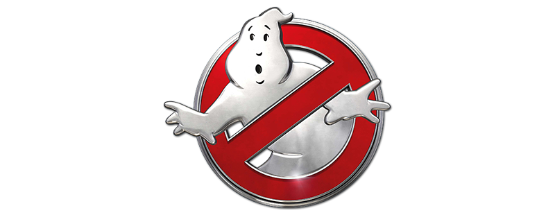 ghostbusters white movie png logo 3639