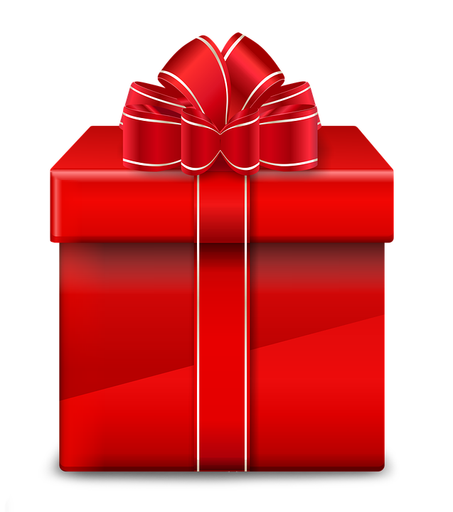 gift red christmas image pixabay #11325