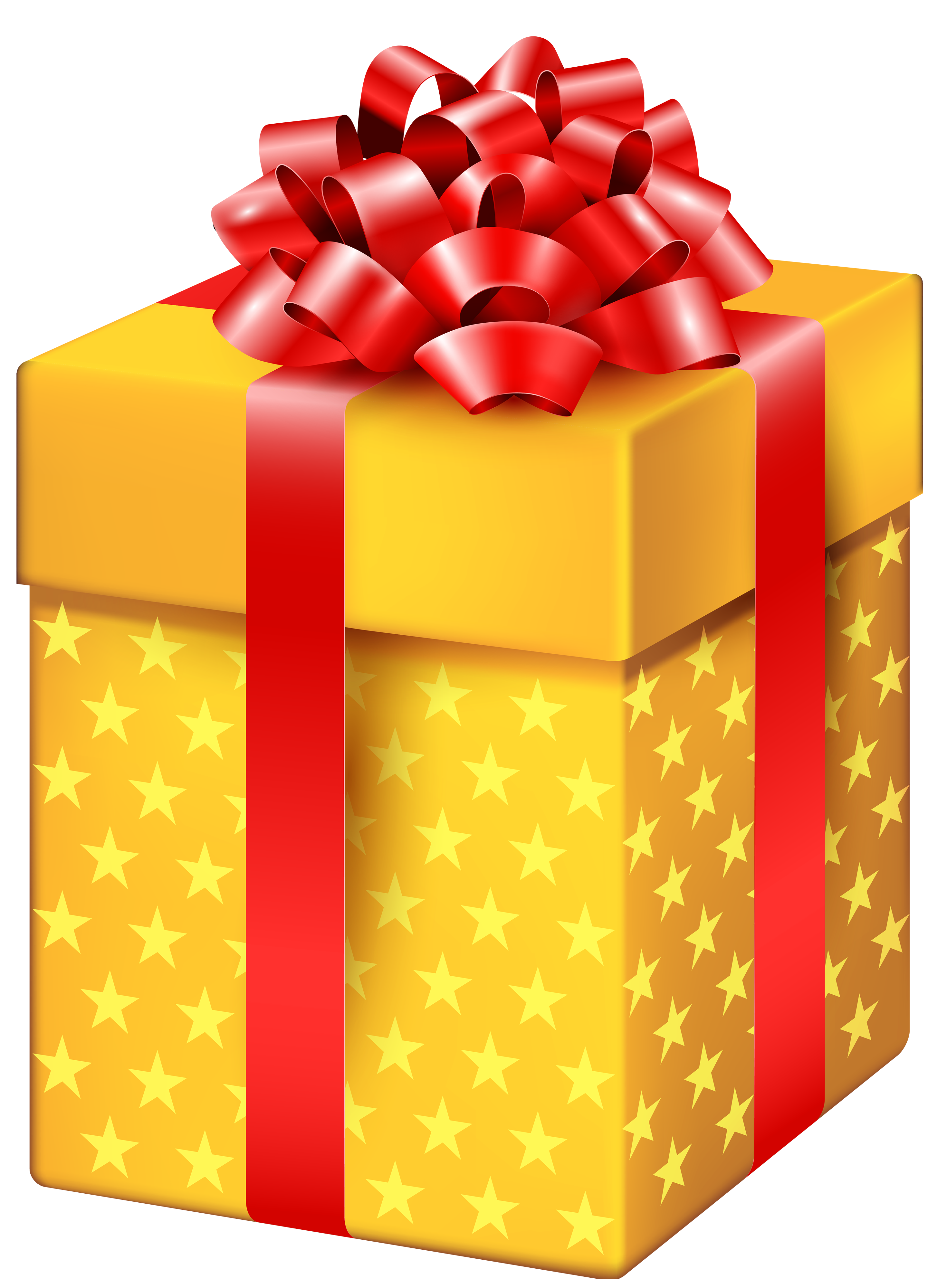 yellow gift box with stars png clipart best web clipart #11343