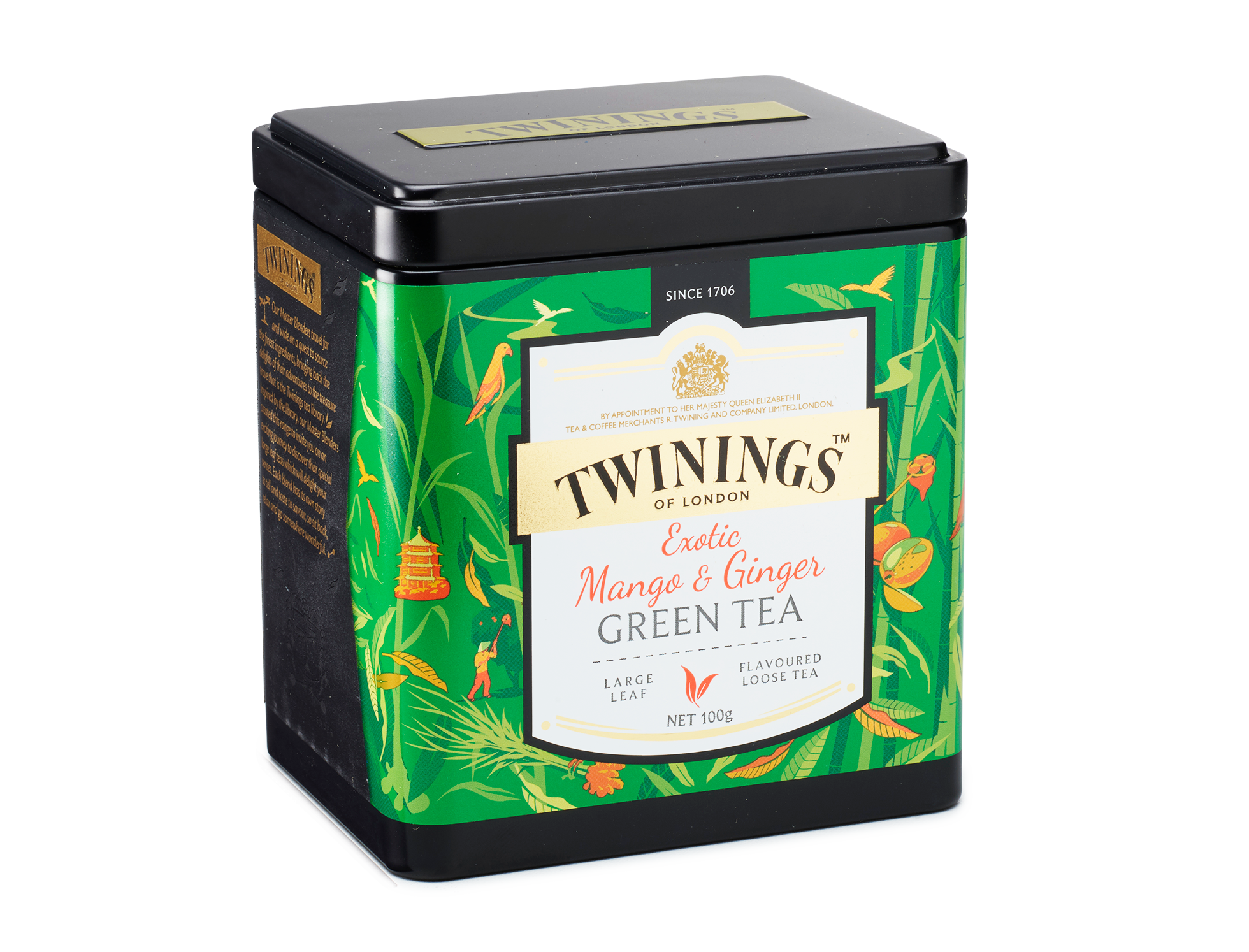 ginger tea, discovery collection exotic mango and ginger green tea #27518