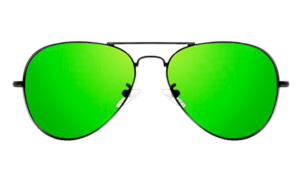 green sun glasses png real glasses #38595