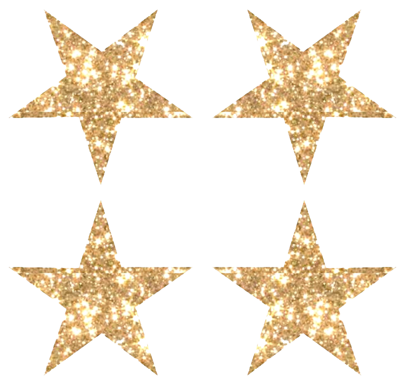 download gold glitter star image png image different #25164