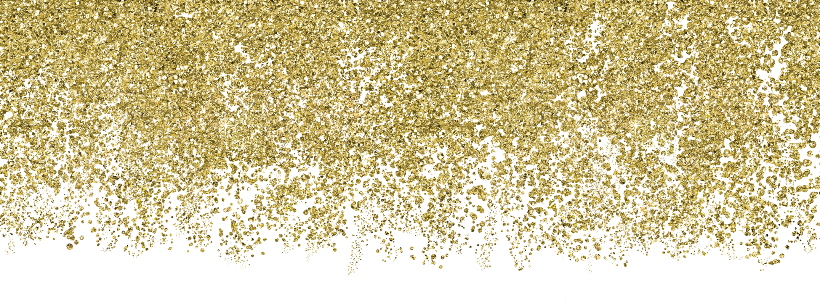 download falling gold glitter png transparent #25210