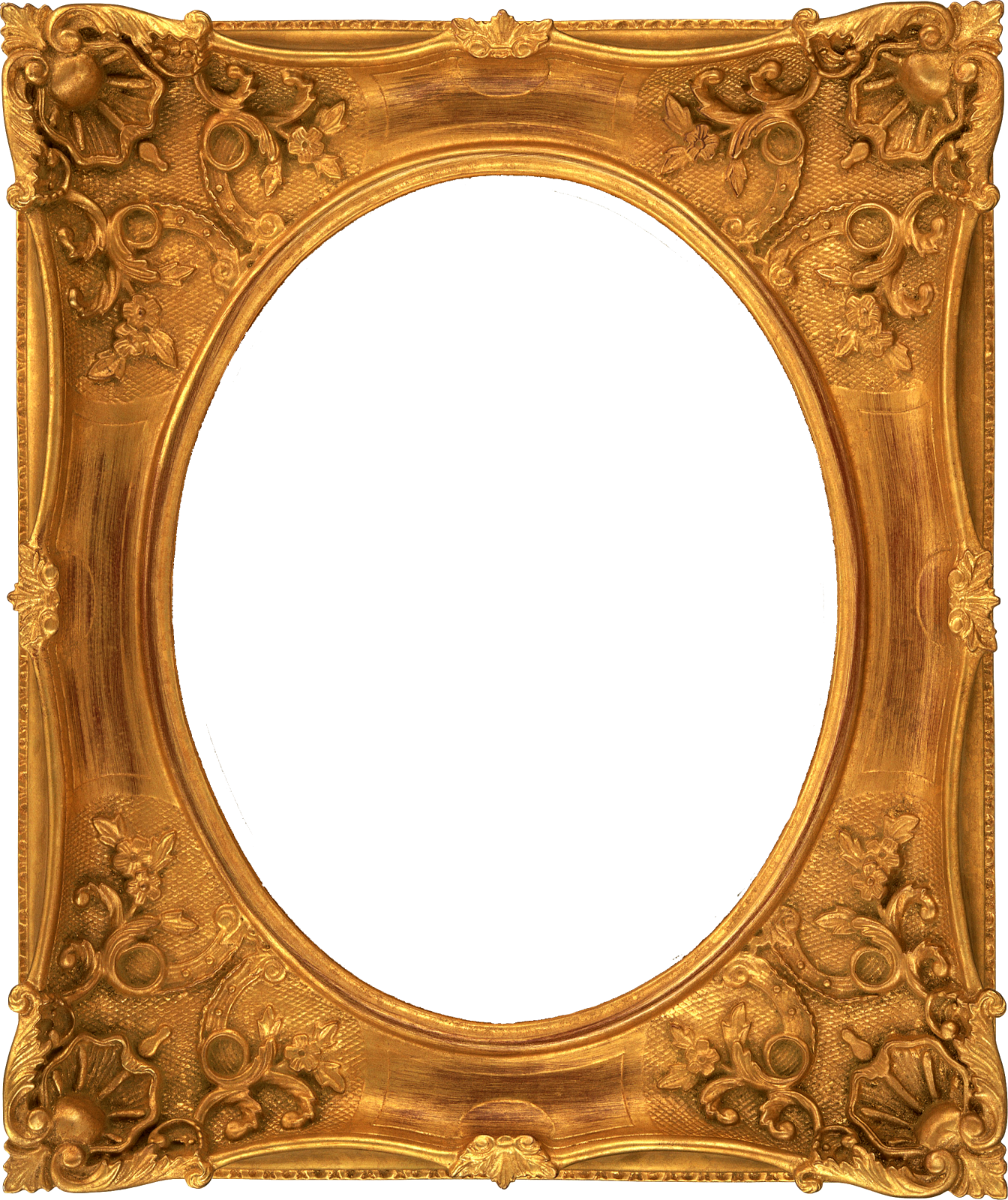 gold, bie fancy vintage ornate digital frames #24185