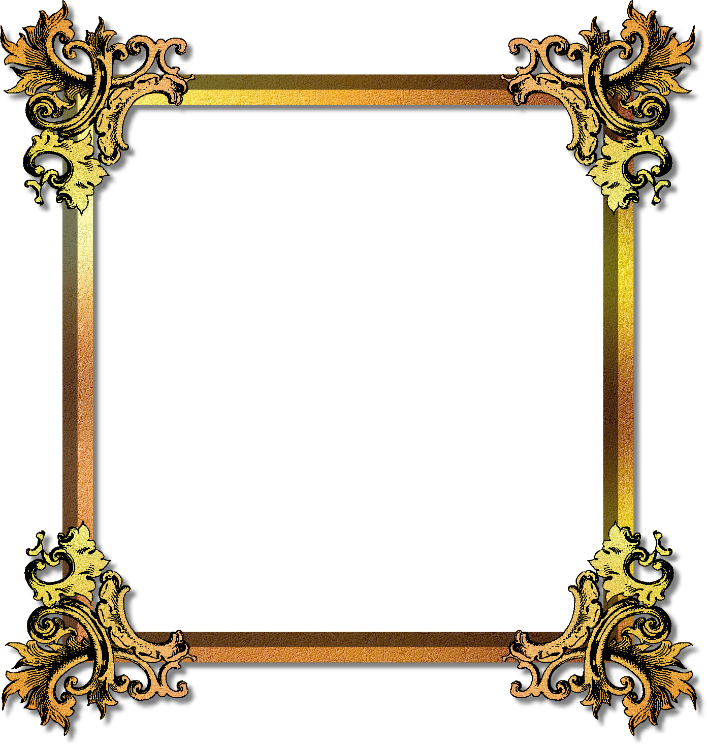 gold, photo editing material new frames #24156
