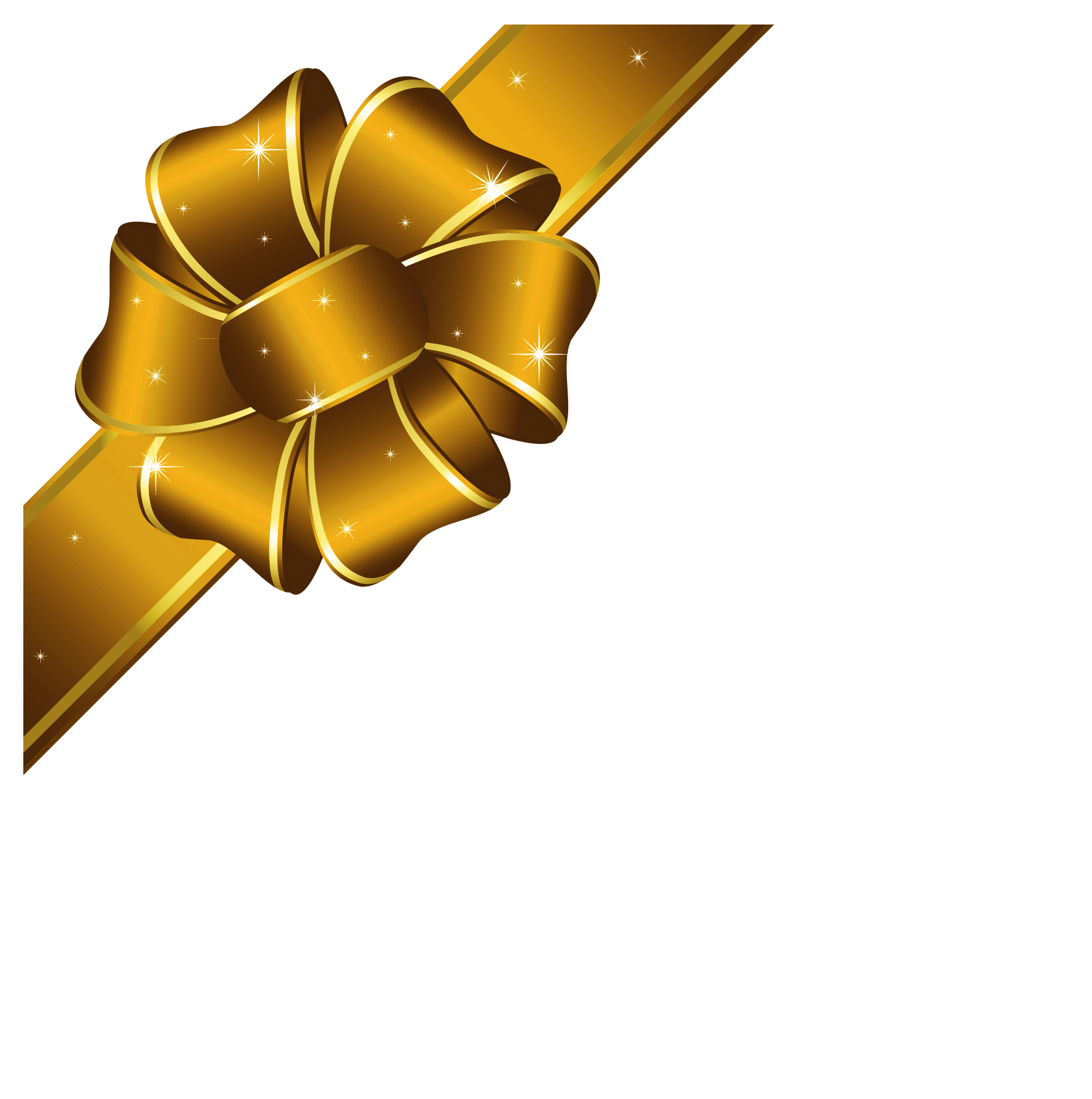 gold ribbon cliparts download clip art #24181