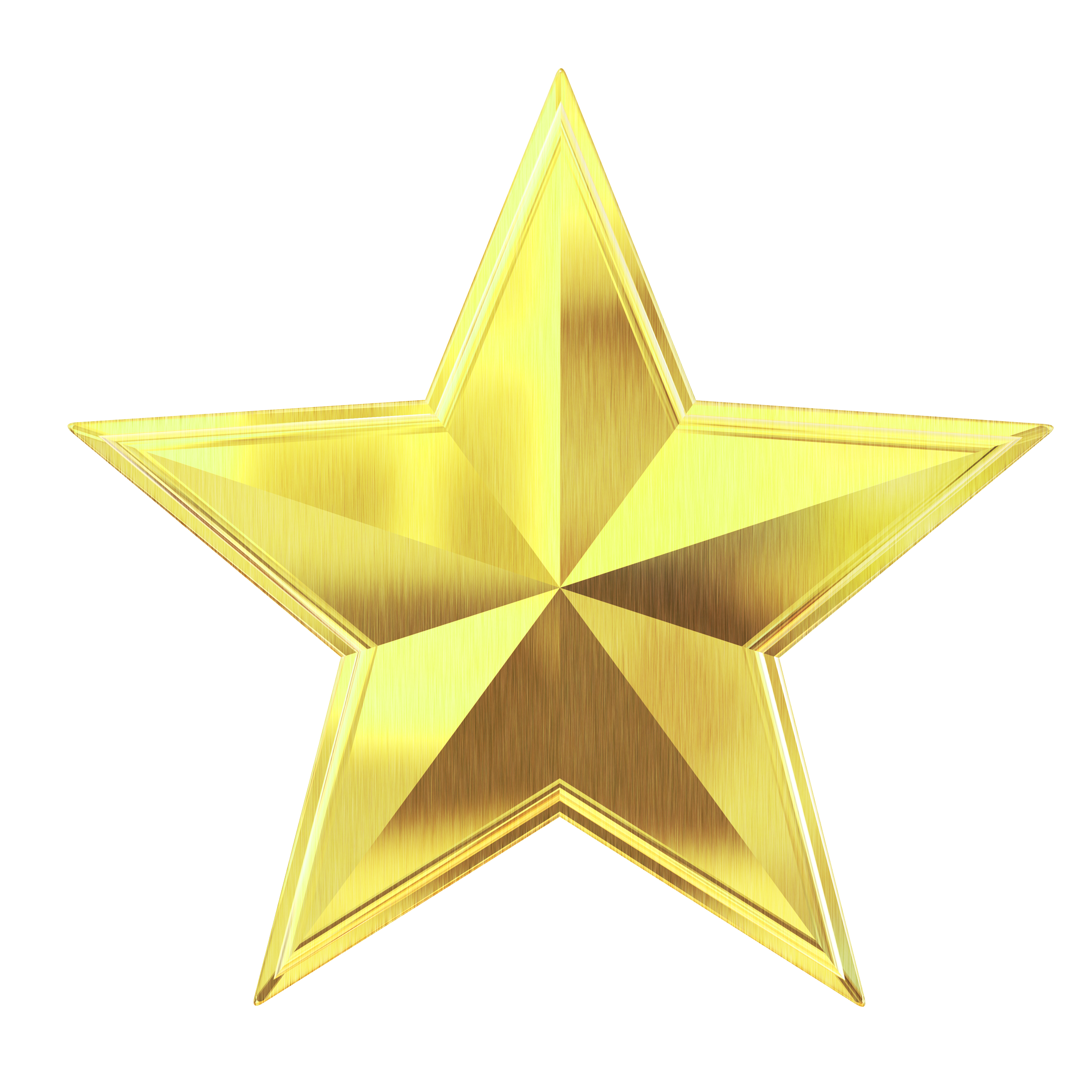gold star png transparent image pngpix #24197